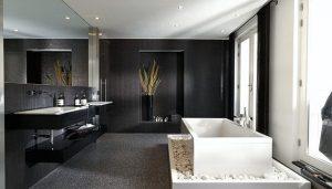 Ons nieuwe badkamer plafond is heel erg mooi
